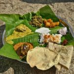 traditional home cooked meal at anegundi