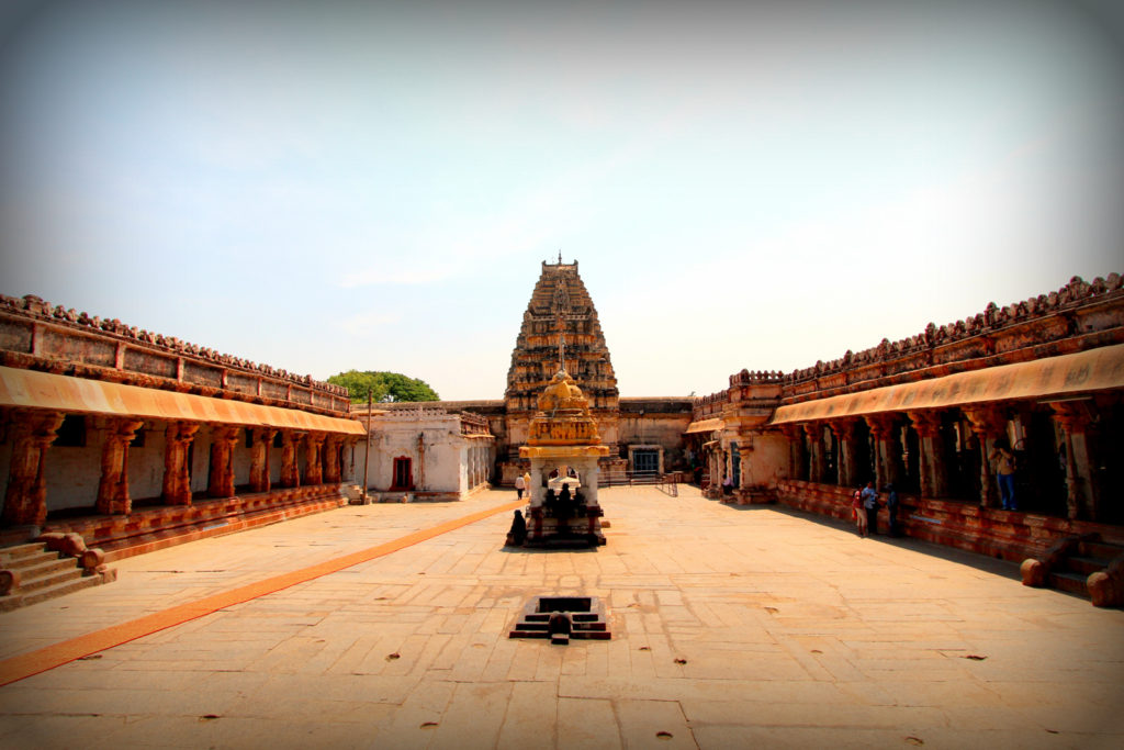 sanctum of Virupaksha Temple