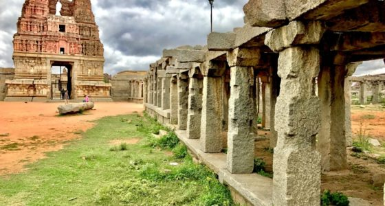 Vittala Temple Gopura and Market