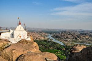 view atop anjanadri hill 2
