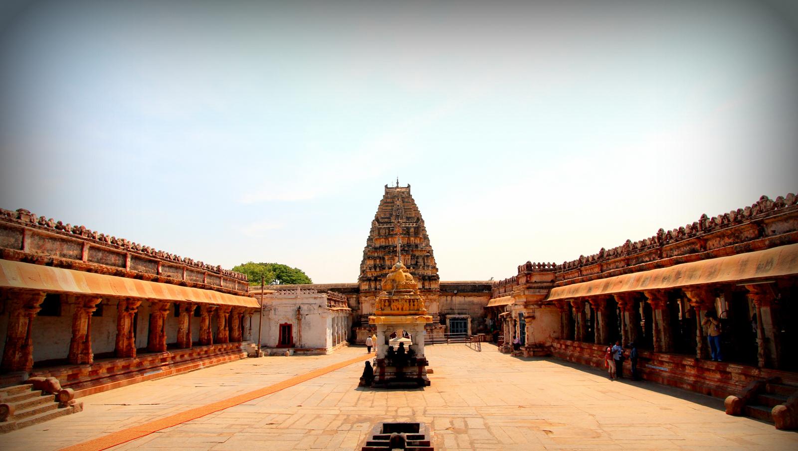 sanctum of virupaksha temple