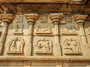 walls of hazararama temple 5