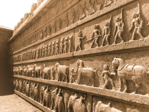 walls of hazararama temple 1