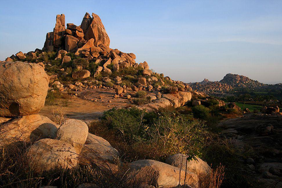 Landscape of Hampi
