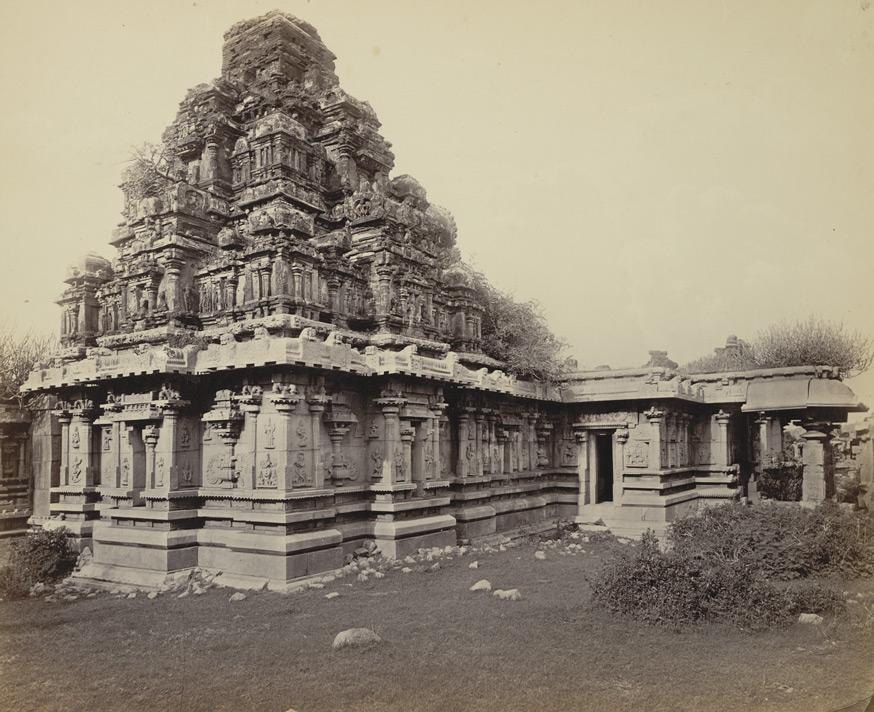 Hazara Rama Chandra Temple II Edmund David Lyon 1868