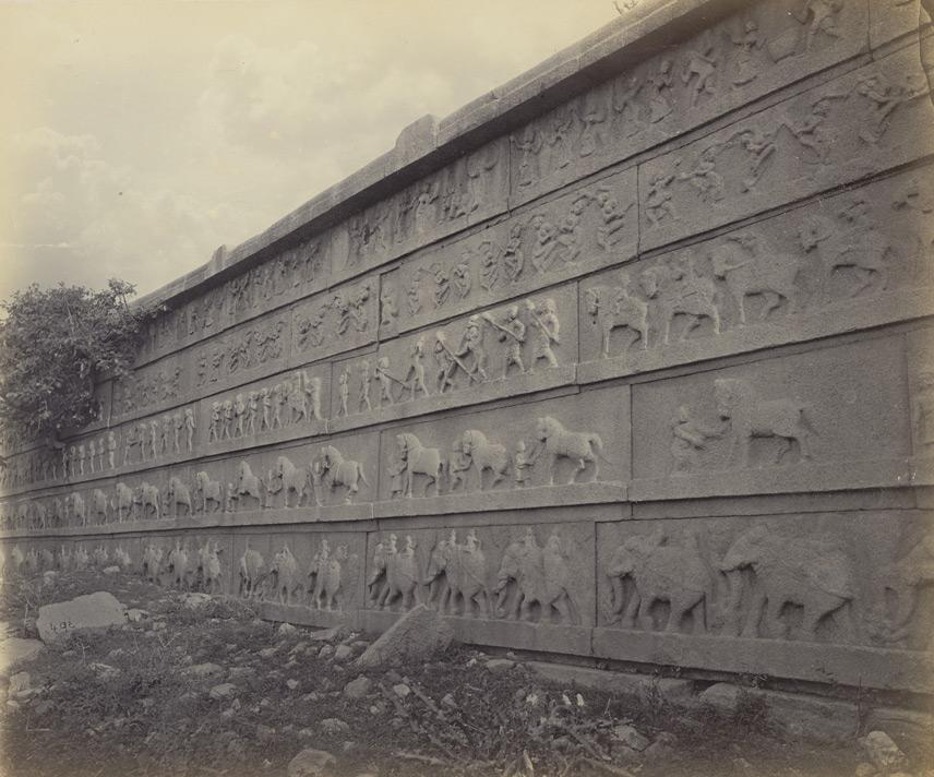 Hazara Rama Chandra Temple IV Edmund David Lyon 1868