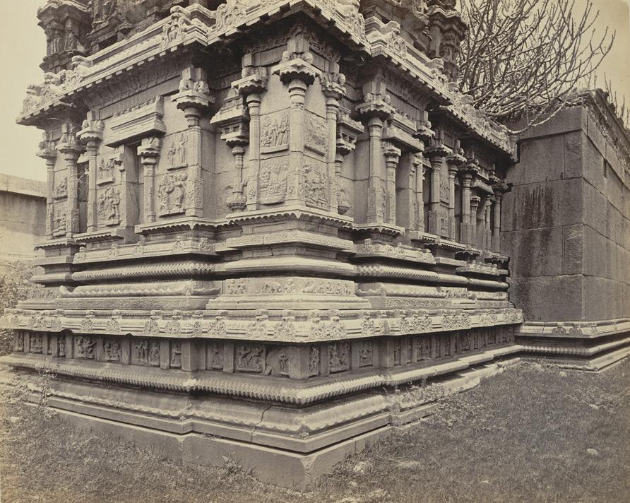 Backside of Goddess Temple - Edmund David Lyon 1868 CE