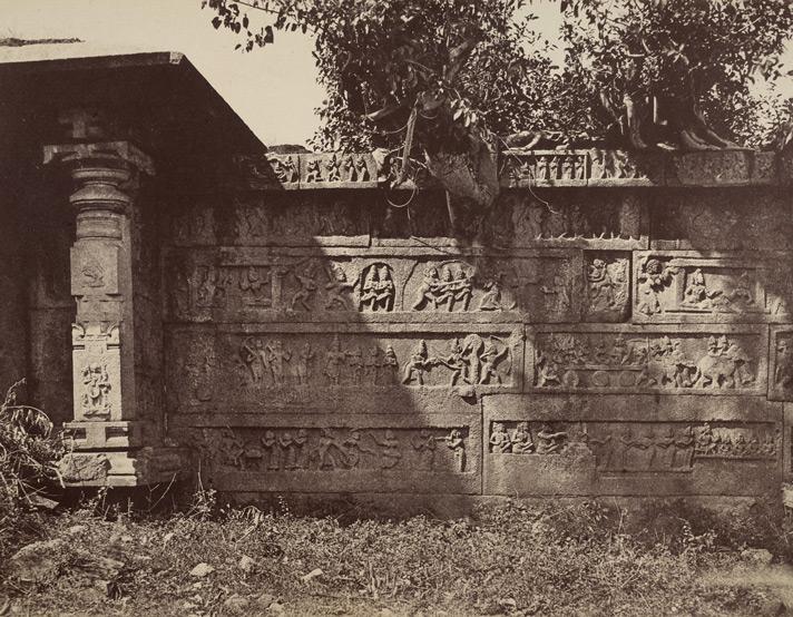 Ramayana Panel Hazara Rama Temple - Andrew  Charles Brisbane Neill 1856 CE