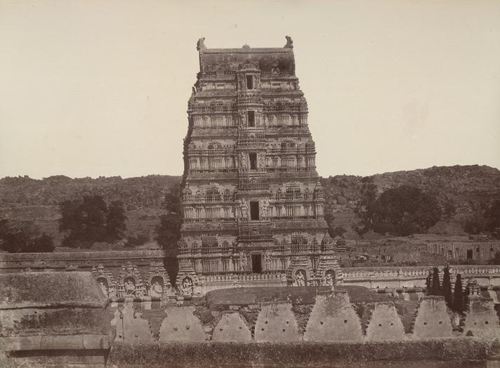 Northern Gopura Virupaksha - William Henry 1857 CE