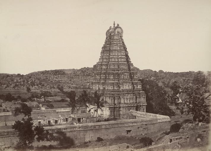 Main Gopura Virupaksha - William Henry 1857 CE