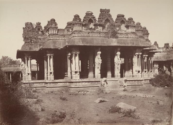 Vittala Temple Kalyana Mantapa II William Henry 1856