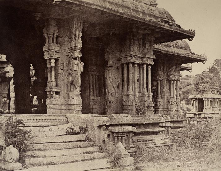 56 Pillared Ranga Mantapa - Neill 1856 CE