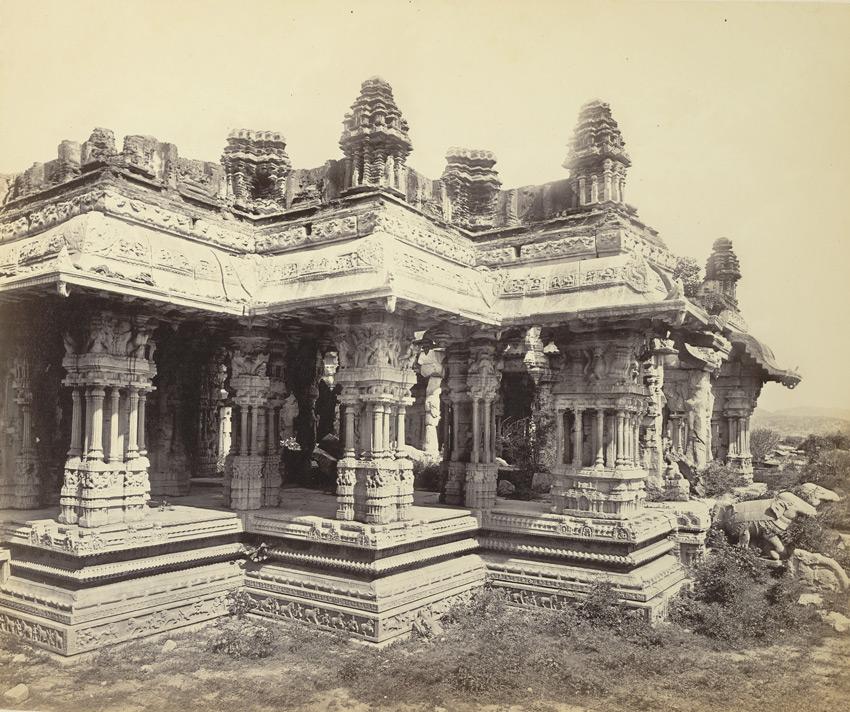 Vittala Temple Ranga Mantapa II Edmund David Lyon 1868